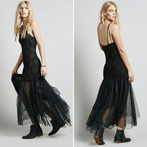 Intimately Free People After Hours Lace Maxi Slip
